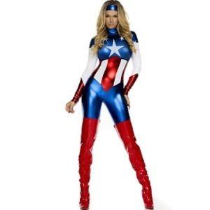 Forplay Astonishing Allegiance Sexy Hero Costume